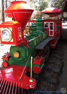 Train ride at Chehaw Park.  Only $3 a ticket.  Children under 1 year old ride for free.