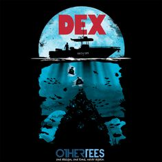 """Dex"" by Olipop  On sale until 20th Feb on www.othertees.com"