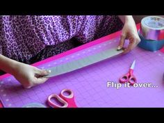 Duck Tape Cuff Tutorial featuring Westcott Titanium Bonded Non Stick Scissors!!!