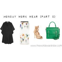 """Monday Work Wear (Part 2)"" by cookiek on Polyvore"