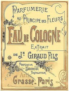 Image result for edwardian perfume labels