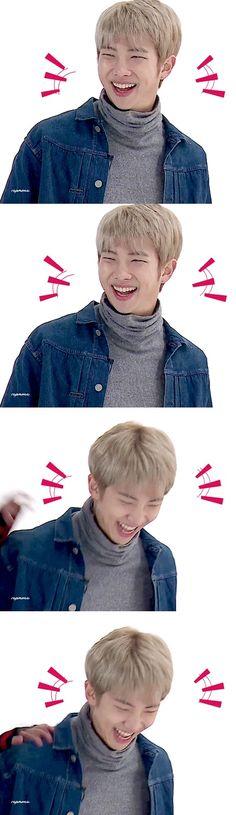 Yo: Suki / Namjoon: *Se ríe hasta casi ahogarse con su propia saliva* / Yo: Creo que ahora todo el fandom y los chicos me odian porque por accidente pude matar a Namjoon : 