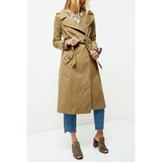 Woven fabric Wide notch lapels Tie waist belt Buttoned flap pockets Long sleeve with tie cuff Split back hem Classic style Our model wears a UK 8 and is tall Classic Trench Coat, Dark Beige, Woven Fabric, River Island, Classic Style, Winter Coats, Lapels, Long Sleeve, Model