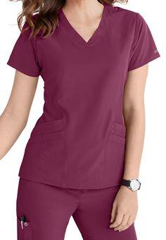 Cute Nursing Scrubs, Dental Uniforms, Medical Scrubs, Scrub Pants, Scrub Tops, V Neck Tops, Fashion Forward, Sporty, Dream Job