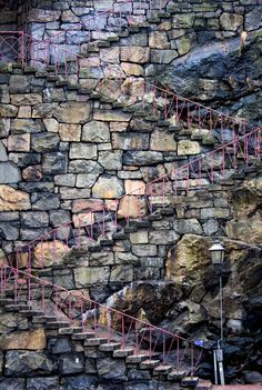 https://flic.kr/p/7U4x4T | Slussen Stairway | Shot with Canon EOS 40D + Canon 18-55mm I think every person from Stockholm know this stairway. It is situated at the famous Slussen. I liked how it is perfectly integrated in the stone structure and how great it looks from this perspective. Together with Henry and Robert I will visit an Exhibition today and then shoot some UrbEx stuff. Oh I really need this. Havent done that in a long while. Of course I keep you posted with results from…