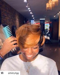 35 Short Bob Hairstyles 2019 for Women - Hairstyles Trends Short Relaxed Hairstyles, Black Women Short Hairstyles, Weave Hairstyles, Hairstyles Videos, Dreadlock Hairstyles, Updo Hairstyle, Wedding Hairstyles, Short Sassy Hair, Short Hair Cuts