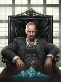 Breaking Bad - Walter White making the change to Tony Montana #GangsterFlick
