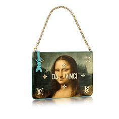 2990afa7c LV pochette Masters WOMAN x Koons   LOUIS VUITTON Estampado, Bolsos De Louis  Vuitton,