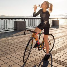Don't care for the gym? Biking is a healthy workout with the benefits of being outdoors.