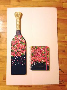 Facebook Cooler Connection/Not a Cooler but...  Lily Pulitzer planner inspired paddle