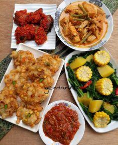 Menu Makan Sore : makan, Makan, Siang, Siang,, Makanan,, Masakan