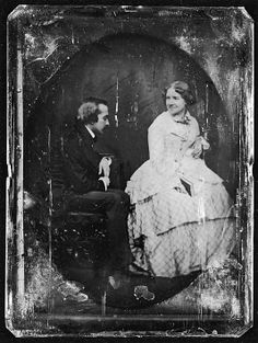 Jenny Lind and Her Husband, Otto Goldschmidt, ca. 1850  Albert Sands Southworth  (American, West Fairlee, Vermont 1811–1894 Charlestown, Massachusetts)  From the Met