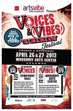 #ArtsVibe #VoicesandVibeFestival #Teens www.artsvibe.com
