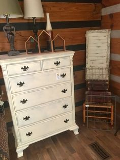 Pineapple Rustic - Shabby Chic Dresser | #furniture #shabbychic #shabbychicfurniture #wilmingtonnc