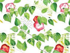 """śliczna grafika z katalogu """"Kwiaty i Rośliny"""" - Delicious http://cottonbee.pl/tkaniny/kwiaty-rosliny/7554-delicious.html"""