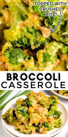 Mom's Crockpot Broccoli Casserole - Easy Budget Recipes