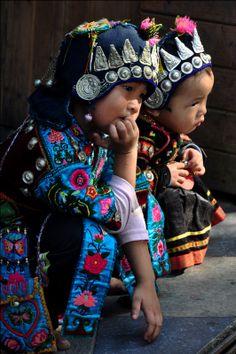 Li people of Hainan Island, China