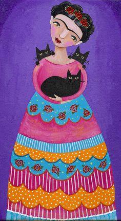 Felix Inclusis | kilkennycat:Frida and Black Cats on Flickr....