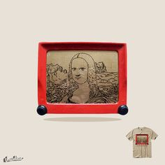Telesketch Art by clipdepelicula on Threadless