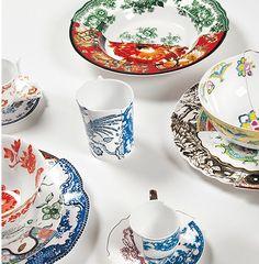 Artistic Dishes by CTRLZAK Design Studio