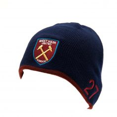West Ham United F. Knitted Hat Payet - dome knitted hat- adults one size fits all- embroidered crest, player name and number- with a swing tag- official licensed product West Ham United Fc, Swing Tags, One Size Fits All, Knitted Hats, Baseball Hats, Beanie, The Unit, Football, Number
