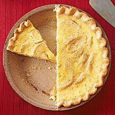 Apple-Cardamom Custard Pie From Better Homes and Gardens, ideas and improvement projects for your home and garden plus recipes and entertaining ideas.