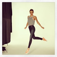 Miranda Kerr at the Reebok SS15 photo shoot l September, 2014