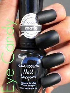 Kleancolor Matte Finish Nail Polish Matte Black -- For more information, visit image link.Note:It is affiliate link to Amazon.