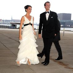 Prince Joachim and Princess Marie of Denmark attend a gala banquet honoring the 400th anniversary of Norway's constitution May 23, 2014