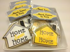 Housewarming Party Idea Housewarming Cookies House And Key