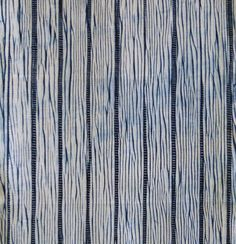 A Length of Arimatsu Shibori: Irregular Stripes