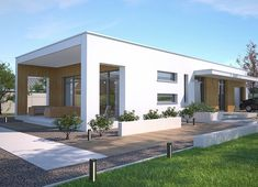 Lancaster II DCB104a - zdjęcie 6 Modern Tiny House, Modern House Design, Home Building Design, Building A House, House Construction Plan, Cabin Homes, Cabins In The Woods, Florida Home, Cool House Designs