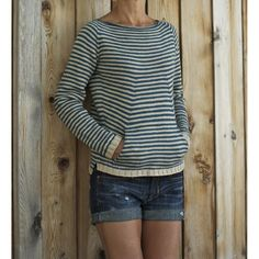 Ravelry: Shellseeker pullover pattern by Heidi Kirrmaier How To Purl Knit, Pulls, Knitting Projects, Ravelry, Knitting Patterns, Knit Crochet, My Style, How To Wear, Clothes