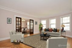 Temperate Taupe Living Room