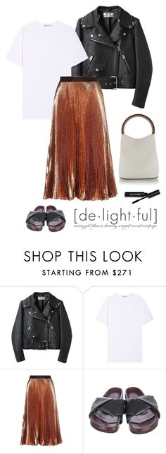 """""""De-light"""" by deborarosa ❤ liked on Polyvore featuring Acne Studios, T By Alexander Wang, Christopher Kane, CÉLINE, Marni and Bobbi Brown Cosmetics"""