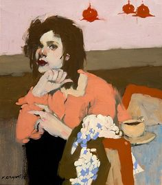 """A lonely lady with an """"Empty Cup"""".  Milt"""