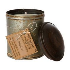 Campfire-scented candle: to make my Chicago apartment smell like the Indiana farm