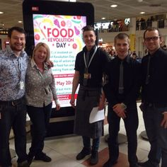 We're celebrating Food Revolution Day here at #Gatwick with @Jamie's Italian UK. Come along and find out what it's all about. We've got activities, food talks, smoothies and tasters until 5pm. #FRD2014