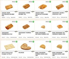 Bridor: autres gâteries / Bridor: other treats