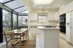kitchen with skylights - Google Search