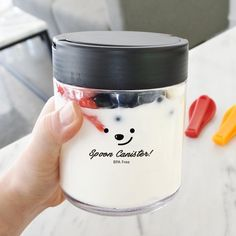 Fancy   Spoon Canister
