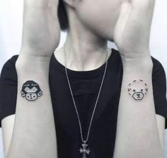innocence at heart. A cartoon tattoo gives people a relaxed and lively feeling. Tattoo Hurt, Tattoo Pain, Back Tattoo, Tattoo Aftercare Tips, Professional Tattoo Kits, Ankle Tattoo For Girl, Places To Get Tattoos, Flame Tattoos, Fantasy Tattoos