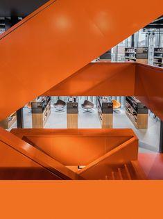 De Blokhuispoort – Leeuwarden Interior Architecture, Opera House, Stairs, Building, Home Decor, Architecture Interior Design, Stairway, Decoration Home, Room Decor