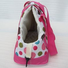 Pink Dot Pet Travel Carrier Dog Tote Bag Doggy Handbag Doggie ...