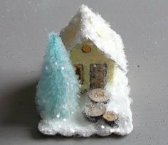 Vintage Putz Style Tiny Miniature Pale by TheUglyDuckling1962, $14.00