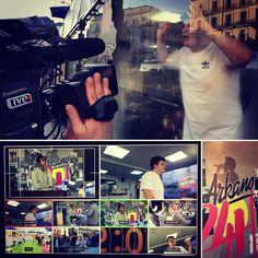 Continuamos la #produccion #audiovisual con @SmoothArkano y @RedBull_Gallos para batir el récord #RetoArkano24h #ruido