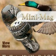 Mini Mag Mallard Duck Call from iBeOutdoors Pro Shop for $27.99 on Square Market