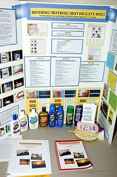 Science Fair - sunscreen idea