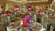 Four Seasons Hotel George V Paris.    Artistic Director Jeff Leatham is so talented.  Beautiful floral arrangements!
