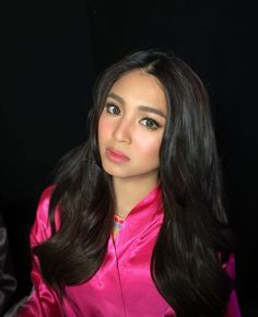 Beautiful right after the show Nadine Lustre, Jadine, Filipina, Strong Women, Celebrities, Instagram Posts, Hair, Beautiful, Beauty